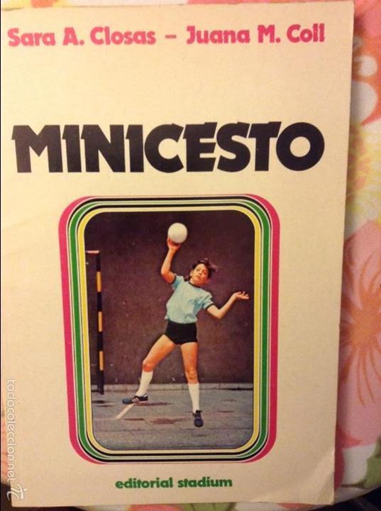 MINICESTO - SARA A. CLOSAS Y JUANA M. COLL - (Coleccionismo Deportivo - Libros de Baloncesto)
