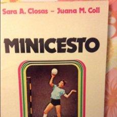 Coleccionismo deportivo: MINICESTO - SARA A. CLOSAS Y JUANA M. COLL -. Lote 60208171