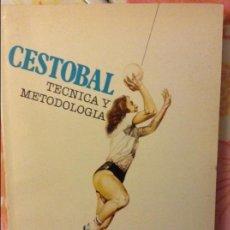 Coleccionismo deportivo: CESTOBAL. TÉCNICA Y METODOLOGÍA - SARA A. CLOSAS -. Lote 60208263