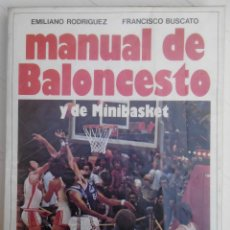 Coleccionismo deportivo: MANUAL DE BALONCESTO. Lote 61795504