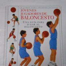 Coleccionismo deportivo: JOVENES JUGADORES DE BALONCESTO. CHRIS MULLIN. UNA GUIA PARA JUGAR AL BALONCESTO. TDK303. Lote 65912982