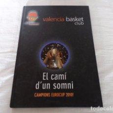 Coleccionismo deportivo: VALENCIA BASKET CAMPIO EUROCUP 2010. Lote 67729341