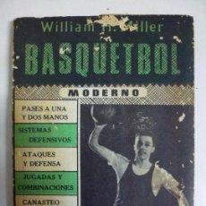 Coleccionismo deportivo - COMO JUGAR BASQUETBOL. BASQUETBOL MODERNO. MÉXICO AÑO 1961. BALONCESTO. - 72985831