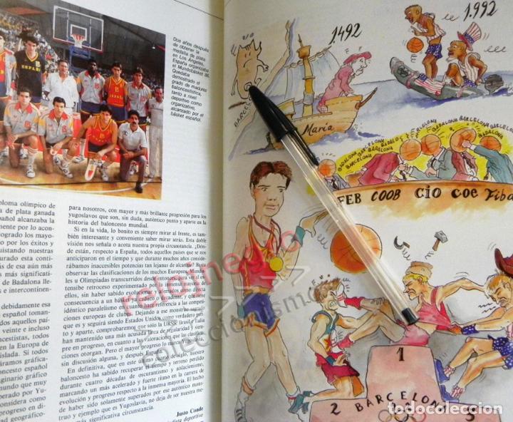 Coleccionismo deportivo: BALONCESTO ESPAÑOL LIBRO DEL AÑO 88 - FEDERACIÓN ESPAÑOLA DE - 1988 DEPORTE ESPAÑA JJOO SEUL BÁSQUET - Foto 4 - 74665551