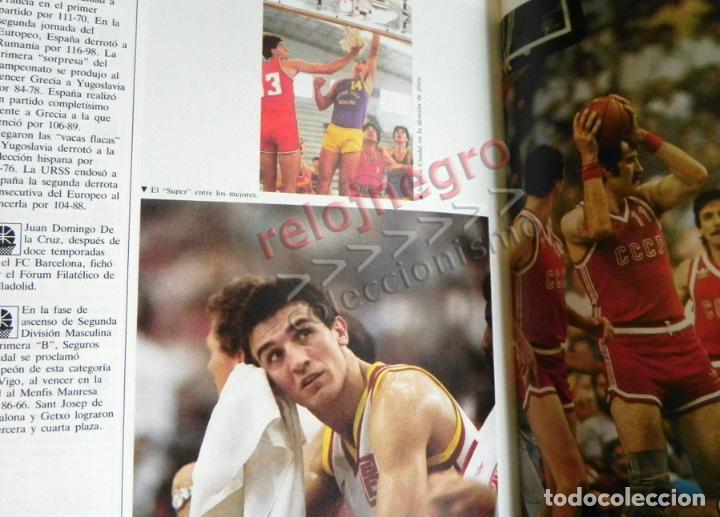 Coleccionismo deportivo: BALONCESTO ESPAÑOL LIBRO DEL AÑO 87 - FEDERACIÓN ESPAÑOLA 1987 ESPAÑA DEPORTE ROMAY EPI ITURRIAGA DE - Foto 6 - 74684955
