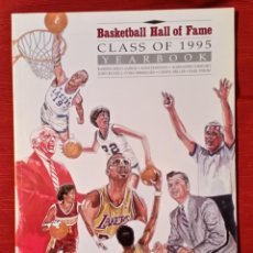 Coleccionismo deportivo: BASKETBALL HALL OF FAME, CLASS OF 1995, YEARBOOK. Lote 76378427
