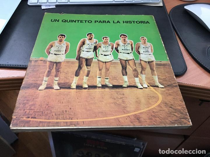 Coleccionismo deportivo: EL REAL MADRID GIGANTE DEL BALONCESTO ESPAÑOL . PROLOGO BERNABEU. PRIMERA EDICION 1972 (LB1) - Foto 6 - 31816397