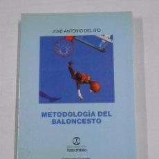 Coleccionismo deportivo: METODOLOGIA DEL BALONCESTO. - JOSE ANTONIO DEL RIO - TDK142. Lote 37883630