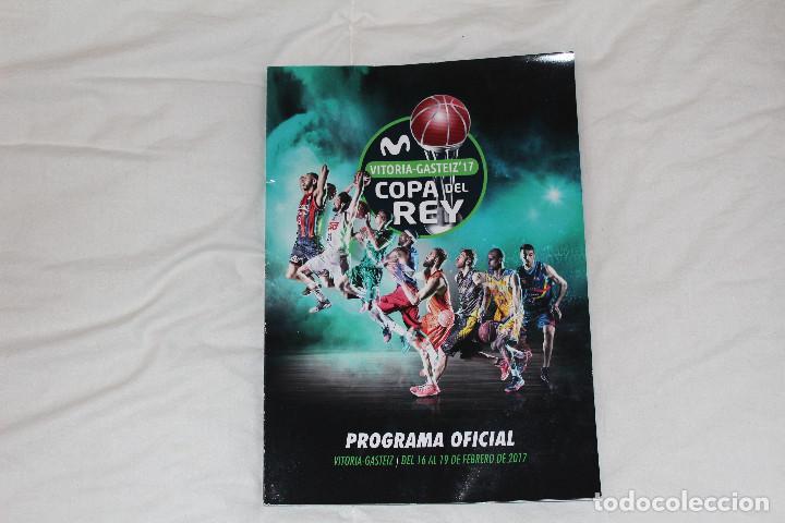 PROGRAMA GUÍA OFICIAL BALONCESTO. COPA DEL REY VITORIA GASTEIZ 2017 (ESPAÑA) (Coleccionismo Deportivo - Libros de Baloncesto)