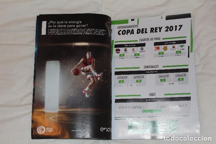 Coleccionismo deportivo: PROGRAMA GUÍA OFICIAL BALONCESTO. COPA DEL REY VITORIA GASTEIZ 2017 (ESPAÑA) - Foto 2 - 78625013