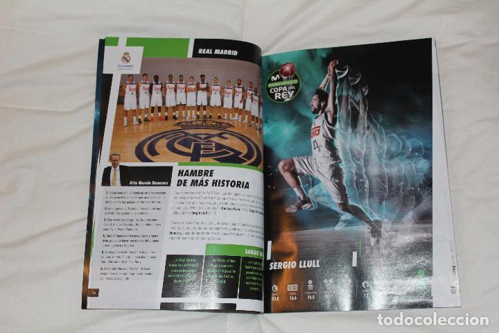Coleccionismo deportivo: PROGRAMA GUÍA OFICIAL BALONCESTO. COPA DEL REY VITORIA GASTEIZ 2017 (ESPAÑA) - Foto 5 - 78625013