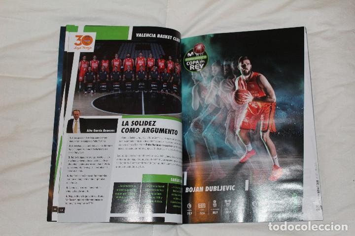 Coleccionismo deportivo: PROGRAMA GUÍA OFICIAL BALONCESTO. COPA DEL REY VITORIA GASTEIZ 2017 (ESPAÑA) - Foto 6 - 78625013