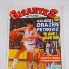 Coleccionismo deportivo: REVISTA GIGANTES DEL BASKET Nº 174. MARZO 1989. DRAZEN PETROVIC. TDKR32. Lote 30166055
