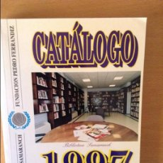 Coleccionismo deportivo: BALONCESTO CATALOGO 1997 BIBLIOTECA SAMARANCH. Lote 80369229