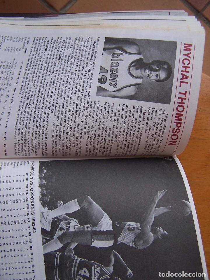 Coleccionismo deportivo: Portland Trail Blazers 1984-85 Baloncesto NBA Guía Anuario. Kiki Vandeweghe, Drexler, Norris - Foto 4 - 82169304