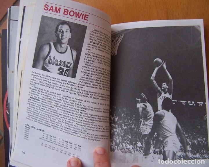 Coleccionismo deportivo: Portland Trail Blazers 1984-85 Baloncesto NBA Guía Anuario. Kiki Vandeweghe, Drexler, Norris - Foto 5 - 82169304
