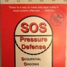 Coleccionismo deportivo: SOS PRESSURE DEFENSE - BOB KLOPPENBURG -. Lote 91679295