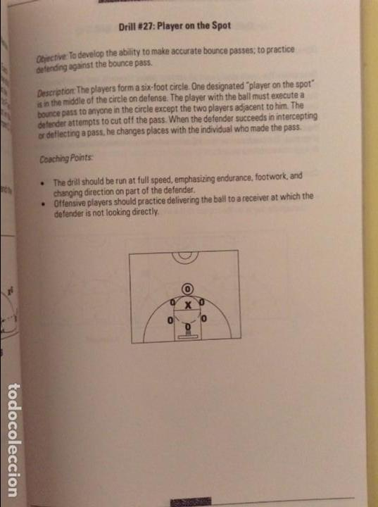 Coleccionismo deportivo: 101 OFFENSIVE BASKETBALL DRILLS (GEORGE KARL, TERRY STOTTS AND PRICE JOHNSON) - Foto 7 - 91720665