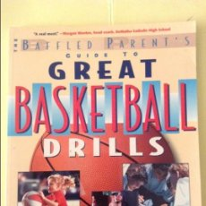 Coleccionismo deportivo: GUIDE TO GREAT BASKETBALL DRILLS - JIM GARLAND -. Lote 91721750