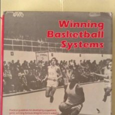 Coleccionismo deportivo: WINNING BASKETBALL SYSTEMS (JERRY TARKANIAN). Lote 91722105