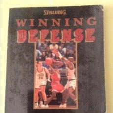 Coleccionismo deportivo: WINNING DEFENSE - DEL HARRIS -. Lote 91723410
