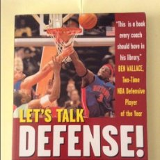 Coleccionismo deportivo: LET'S TALK DEFENSE - HERB BROWN -. Lote 91724015
