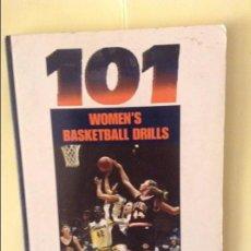 Coleccionismo deportivo: 101 WOMEN'S BASKETBALL DRILLS (GARY MILLER). Lote 91725370