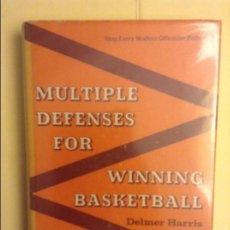 Coleccionismo deportivo: MULTIPLE DEFENSES FOR WINNING BASKETBALL - DELMER HARRIS -. Lote 91754865