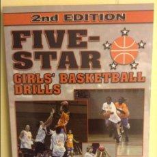 Coleccionismo deportivo: FIVE-STAR GIRLS' BASKETBALL DRILLS - WISH PUBLISHING -. Lote 91756095
