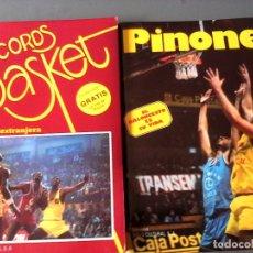 Coleccionismo deportivo: LOS RECORDS DEL BASKET. LA LEGIÓN EXTRANJERA. LA VIDA DE PINONE.. Lote 95638723