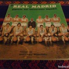Coleccionismo deportivo: EL REAL MADRID GIGANTE DEL BALONCESTO ESPAÑOL POR MARTÍN TELLO. GERAN 1972. BUEN ESTADO Y RARO.. Lote 97207263