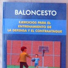 Coleccionismo deportivo: BALONCESTO: EJERCICIOS PARA EL ENTRENAMIENTO DE LA DEFENSA Y EL CONTRAATAQUE - 2006 - VER INDICE. Lote 99169247