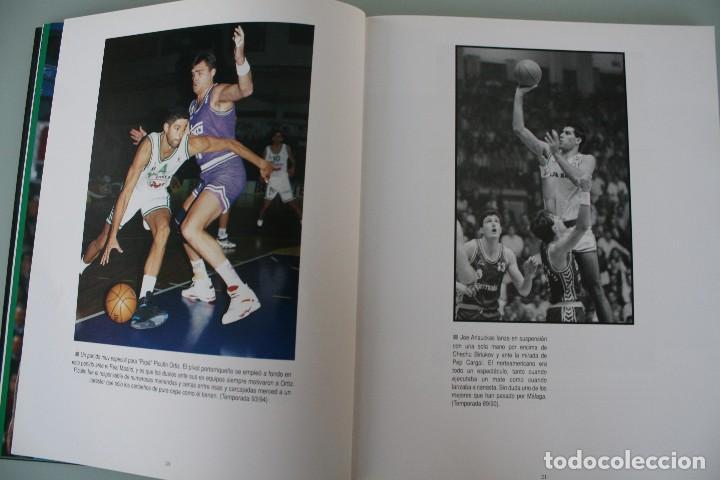 Coleccionismo deportivo: 17 AÑOS BAJO EL ARO (1983 -2000) LIBRO FOTÓGRAFO MALAGUEÑO MARIANO POZO – UNICAJA MALAGA BALONCESTO - Foto 5 - 100868299