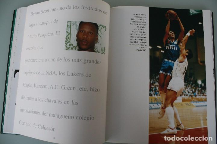Coleccionismo deportivo: 17 AÑOS BAJO EL ARO (1983 -2000) LIBRO FOTÓGRAFO MALAGUEÑO MARIANO POZO – UNICAJA MALAGA BALONCESTO - Foto 7 - 100868299