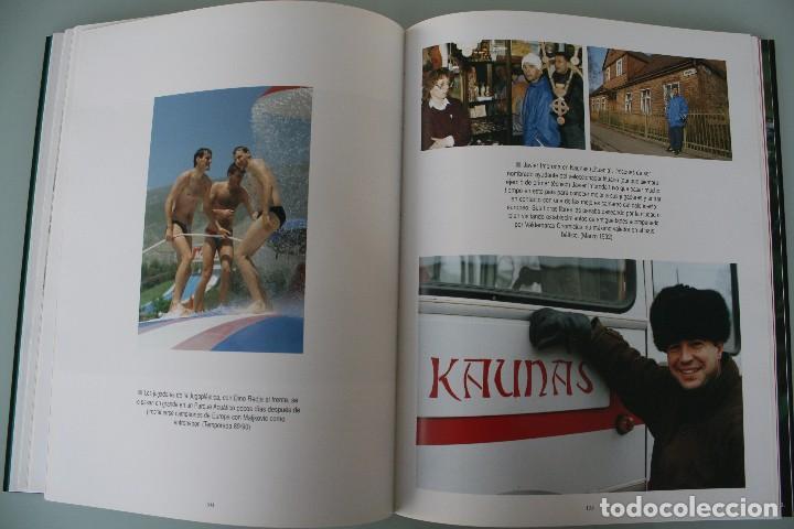 Coleccionismo deportivo: 17 AÑOS BAJO EL ARO (1983 -2000) LIBRO FOTÓGRAFO MALAGUEÑO MARIANO POZO – UNICAJA MALAGA BALONCESTO - Foto 10 - 100868299