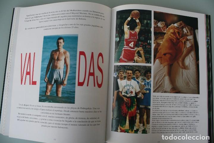 Coleccionismo deportivo: 17 AÑOS BAJO EL ARO (1983 -2000) LIBRO FOTÓGRAFO MALAGUEÑO MARIANO POZO – UNICAJA MALAGA BALONCESTO - Foto 12 - 100868299