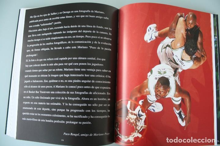 Coleccionismo deportivo: 17 AÑOS BAJO EL ARO (1983 -2000) LIBRO FOTÓGRAFO MALAGUEÑO MARIANO POZO – UNICAJA MALAGA BALONCESTO - Foto 13 - 100868299