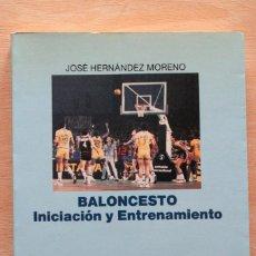 Coleccionismo deportivo: J.HERNÁNDEZ MORENO - BALONCESTO. INICIACIÓN Y ENTRENAMIENTO - PAIDOTRIBO. Lote 102567951