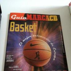 Coleccionismo deportivo: GUÍA MARCA LIGA ACB 2000. Lote 105373195