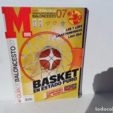 Coleccionismo deportivo: MARCA GUIA DE BALONCESTO 2007 - BASKET EN ESTADO PURO - LEB-LEB2-EBA-FEMENINAS. Lote 105794375