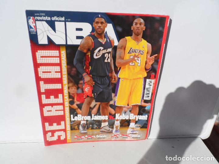 NBA REVISTA OFICIAL JUNIO 2009- LEBRON JAMES VS KOBE BRYANT (Coleccionismo Deportivo - Libros de Baloncesto)