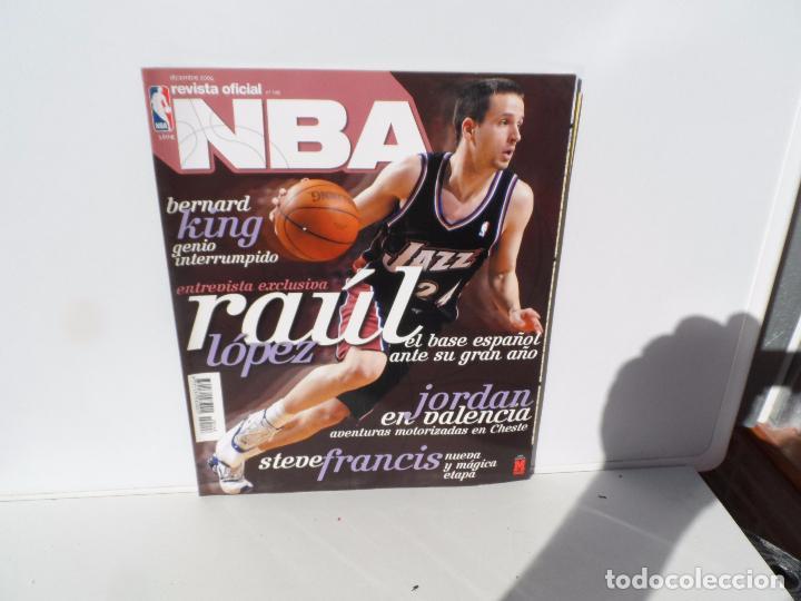 NBA REVISTA OFICIAL DICIEMBRE 2004- RAUL LOPEZ . BERNARD KING - JORDAN EN VALENCIA , STEVE FRANCIS (Coleccionismo Deportivo - Libros de Baloncesto)