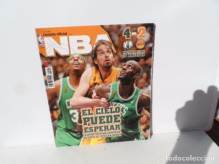 NBA REVISTA OFICIAL JULIO 2008- CELTICS NUEVO CAMPEON , SUPERÓ EL EFECTO GASOL (Coleccionismo Deportivo - Libros de Baloncesto)