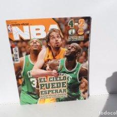 Coleccionismo deportivo: NBA REVISTA OFICIAL JULIO 2008- CELTICS NUEVO CAMPEON , SUPERÓ EL EFECTO GASOL. Lote 105825731