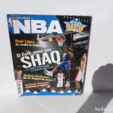 Coleccionismo deportivo: NBA REVISTA OFICIAL MARZO 2005- RAUL LOPEZ , KRILENKO , ANTAWN JAMISON , SHAQ - IVERSON. Lote 105827299