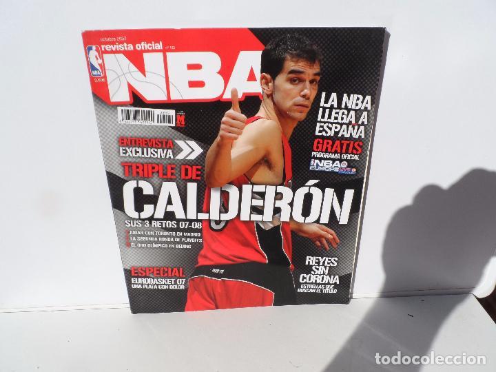NBA REVISTA OFICIAL OCTUBRE 2007 - TRIPLE DE CALDERON - PREOGAMA OFICIAL NBA - REYES SIN CORONA (Coleccionismo Deportivo - Libros de Baloncesto)