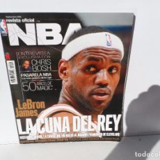 Coleccionismo deportivo: NBA REVISTA OFICIAL SEPTIEMBRE 2009 - LEBRON JAMES- LA CUNA DEL REY- CHRIS BOSH - POSTER TONY PARKER. Lote 105833831