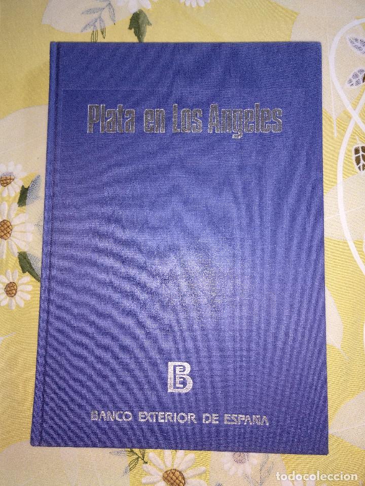 PLATA EN LOS ANGELES. BANCO EXTERIOR DE ESPAÑA. 1984. CARLOS JIMENEZ Y MARTIN TELLO. (Coleccionismo Deportivo - Libros de Baloncesto)