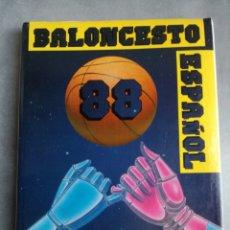 Coleccionismo deportivo: BALONCESTO ESPAÑOL 88 - LIBRO DEL AÑO, TEMPORADA 1987-1988. Lote 107655583