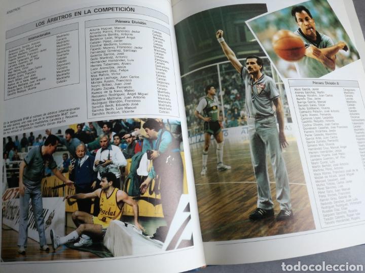 Coleccionismo deportivo: BALONCESTO ESPAÑOL 88 - LIBRO DEL AÑO, TEMPORADA 1987-1988 - Foto 3 - 107655583
